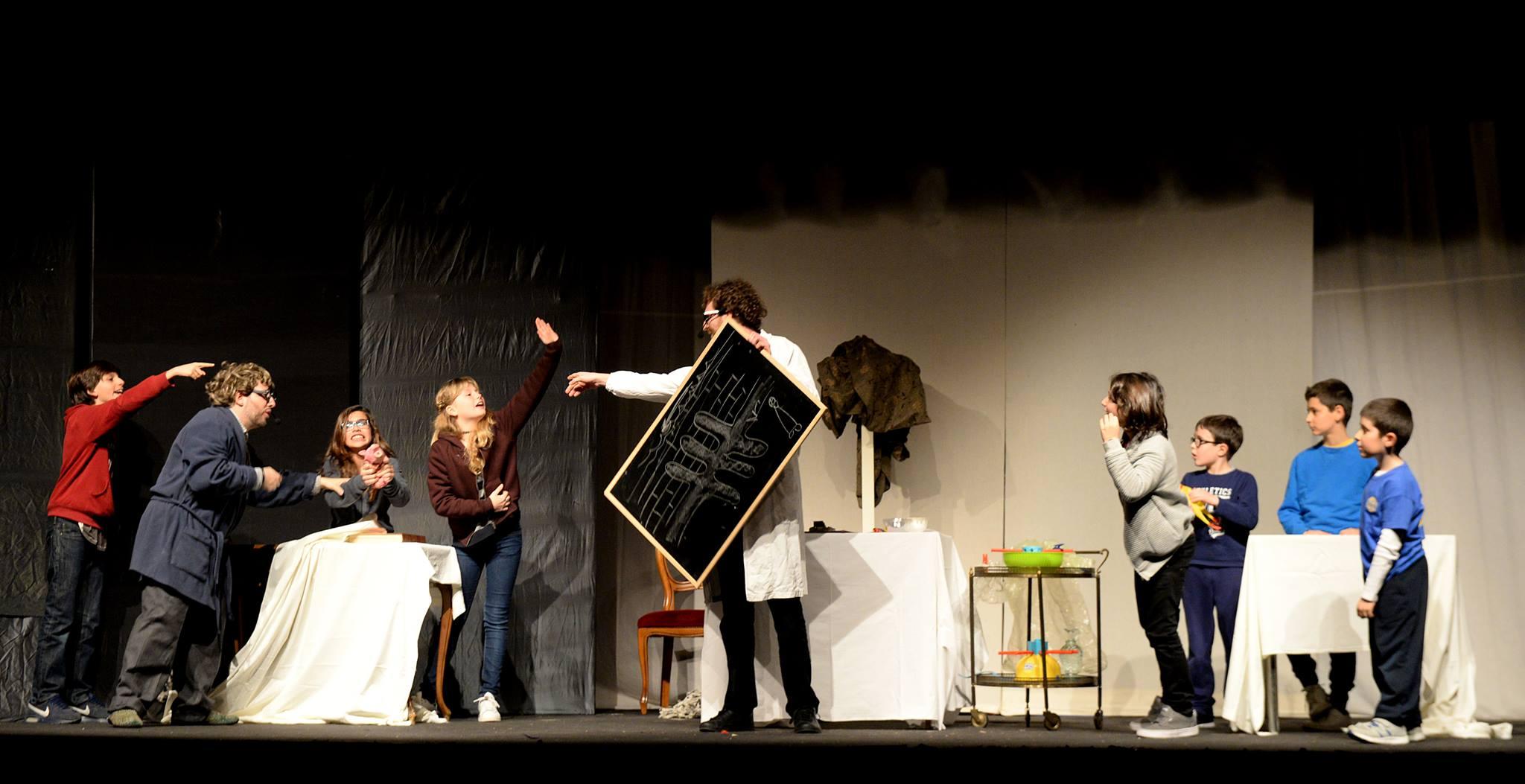 Prof & Gianchi Teatro Ariberto