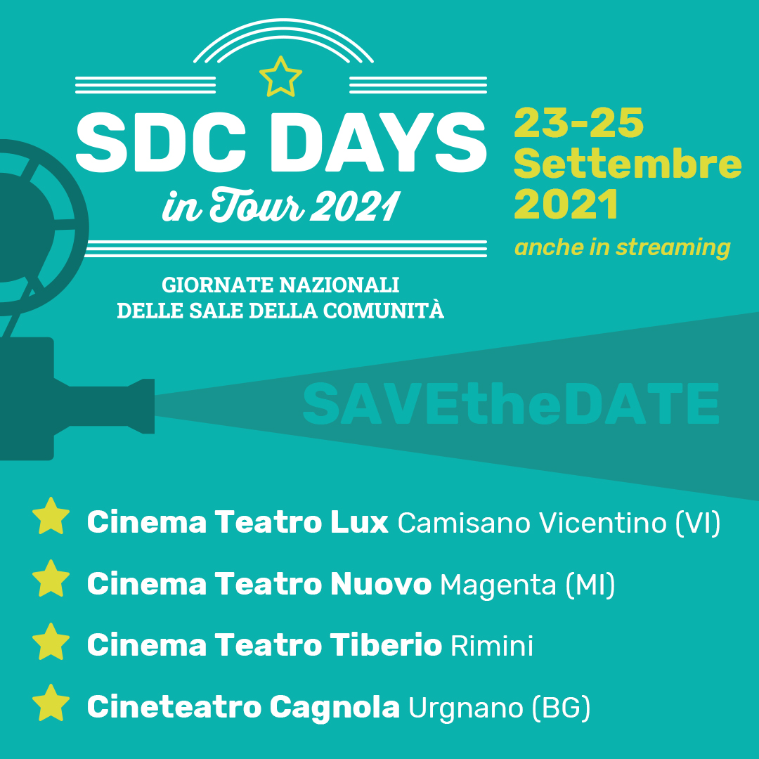 Save the date SdC Days2021
